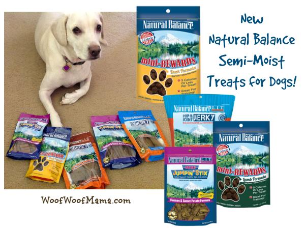 Natural Balance Dog Food Coupons >> New Semi-Moist Dog Treats from Natural Balance {Review + Coupon} | Woof Woof Mama