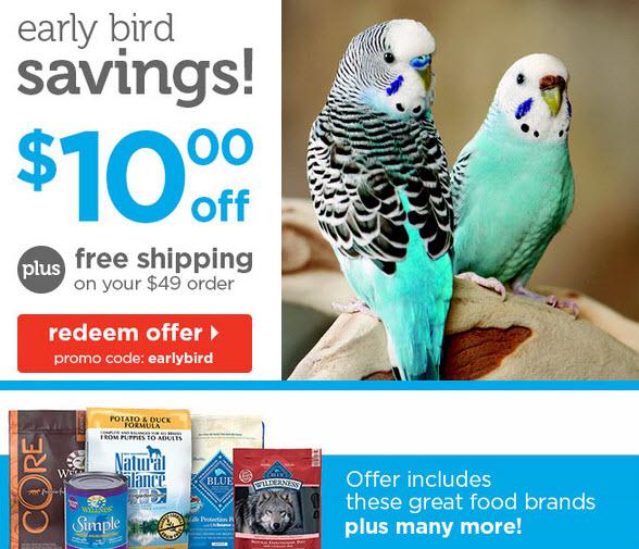 earlybird petco promo code