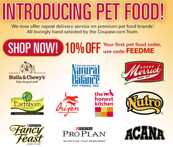 pet food delivery coupaw promo code