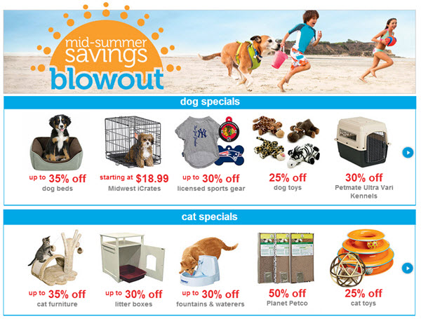 petco summer sale