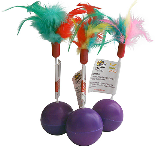 wobbler cat toys