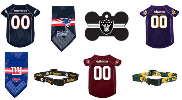 NFL pet gear