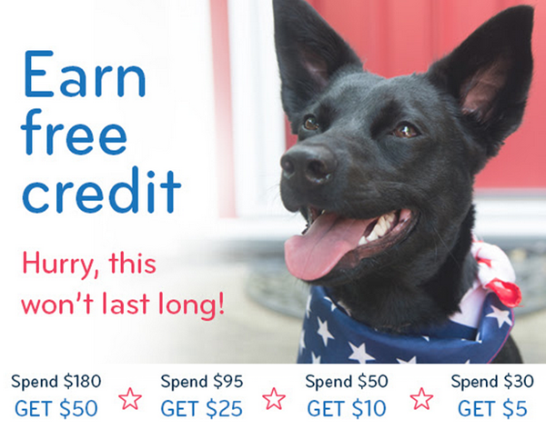free doggyloot credit