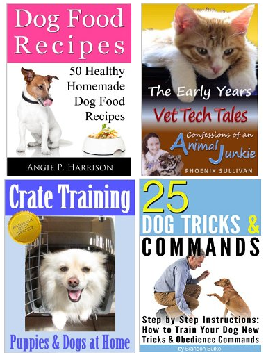 4 free kindle dog books