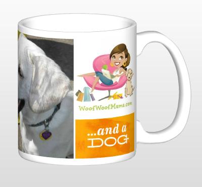and a dog mug