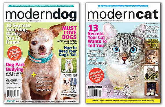 modern dog cat mags