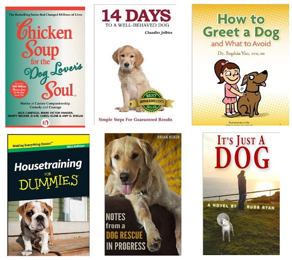 top rated dog books