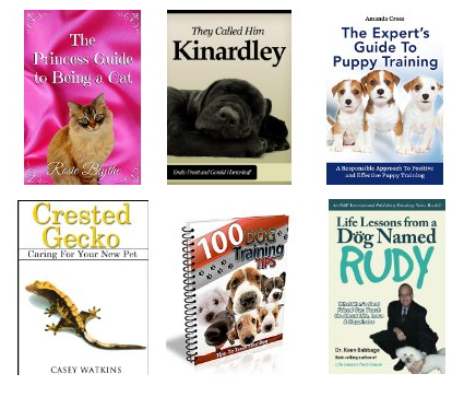 6 free pet books