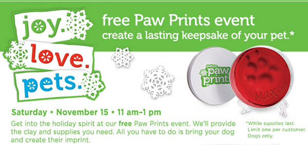 free paw print