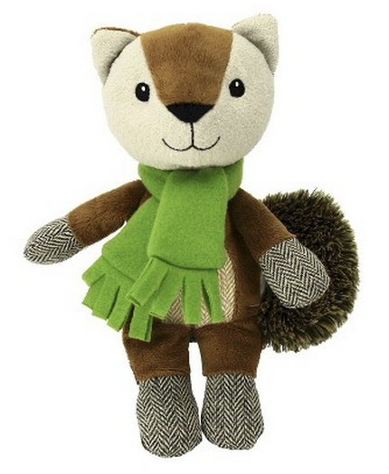 squirrel winter dog toy