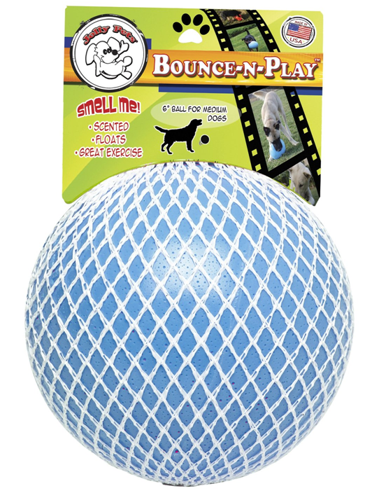 bounce play dog toy