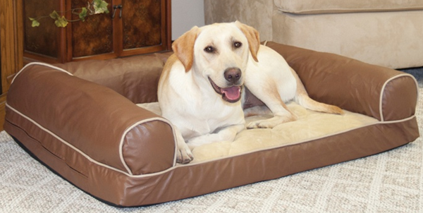 bolster pet bed