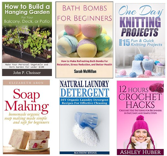 free diy books