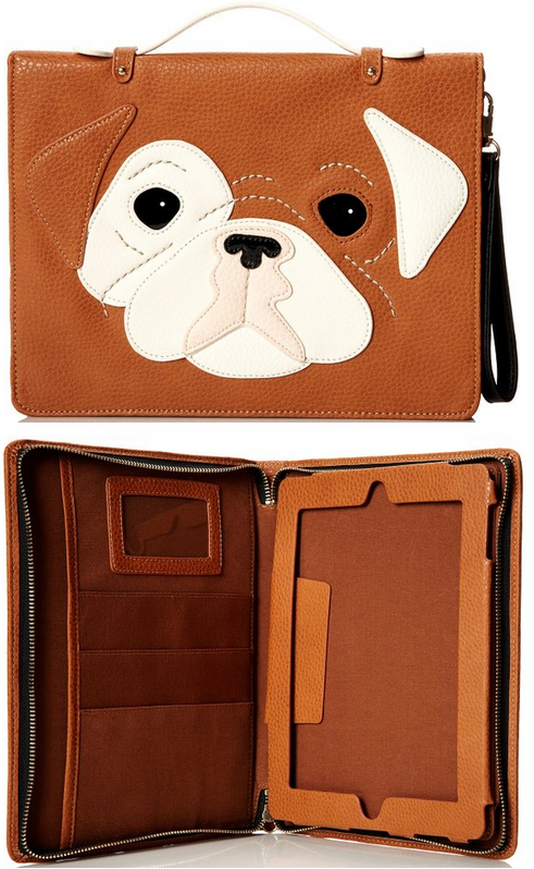 tan dog ipad case