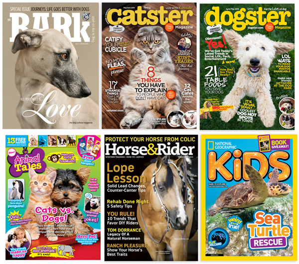 dog cat magazines