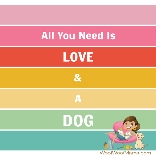 love dog square