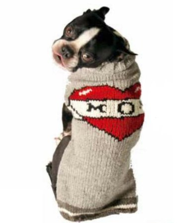 mom dog sweater