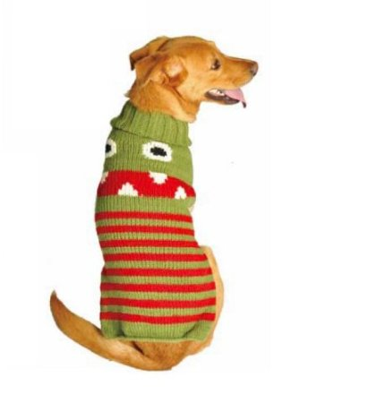 monster dog sweater