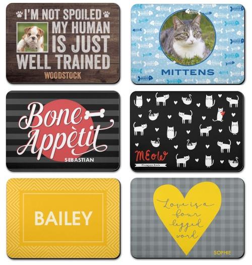 pet food mats