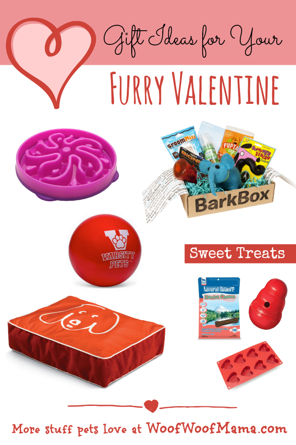 gift ideas and sweet treats for your furry valentine