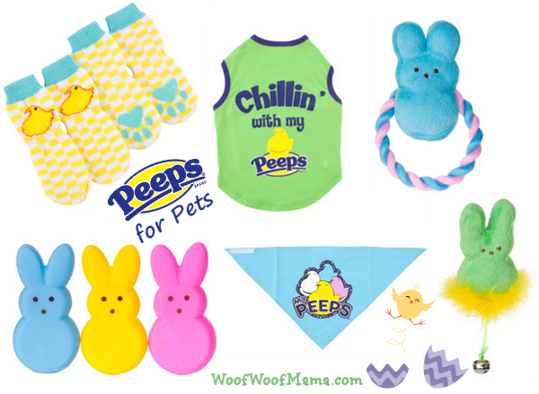 Easter peeps toys clothing and accessories for dogs and cats peeps for pets negle Gallery