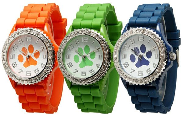dog paw watches