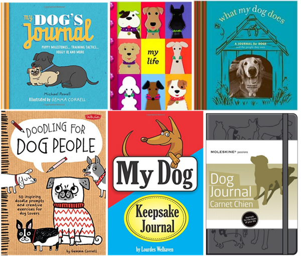 interactive dog journals