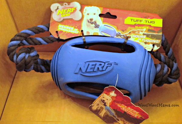 nerf dog tug toy
