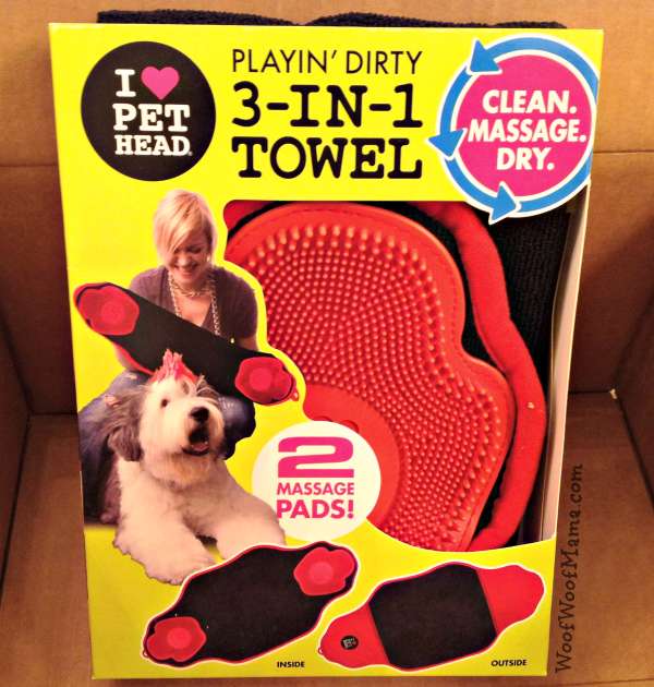 pet head dog towel