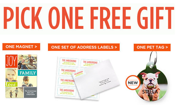 FREE Pet Tag, Photo Magnet or Address Labels w/ Shutterfly