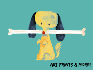 art prints for dog lovers