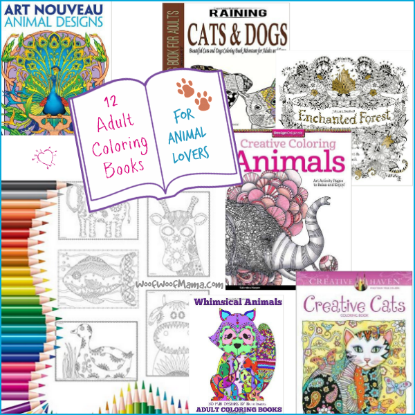 12 Creative And Relaxing Adult Coloring Books For Animal Lovers