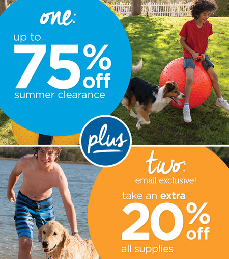 petco clearance and code
