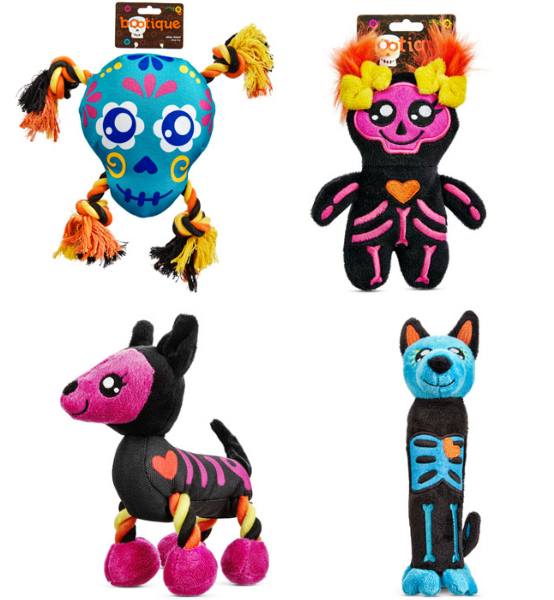 Day of the Dead dog toys
