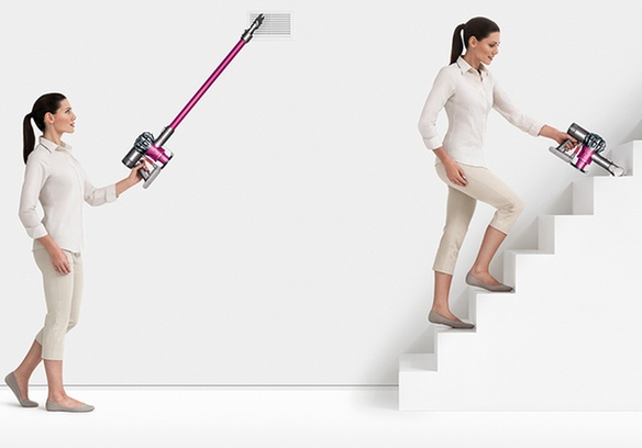 stairs dyson cordless