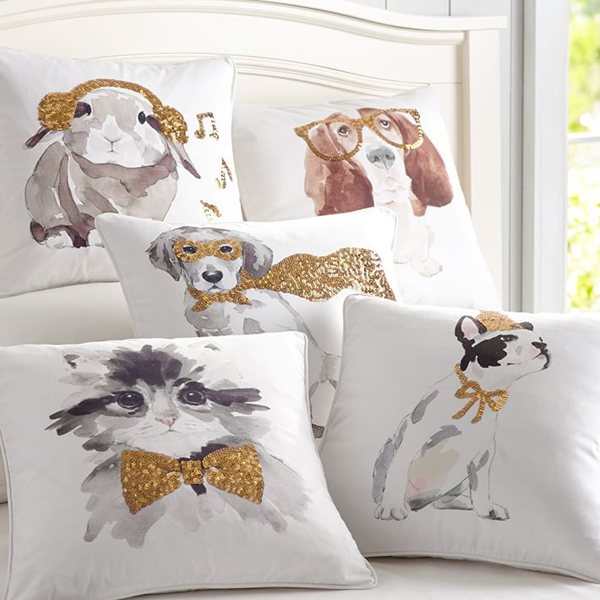 ASPCA Party Animal Pillows from PBteen
