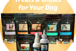 TruDog treats smiles