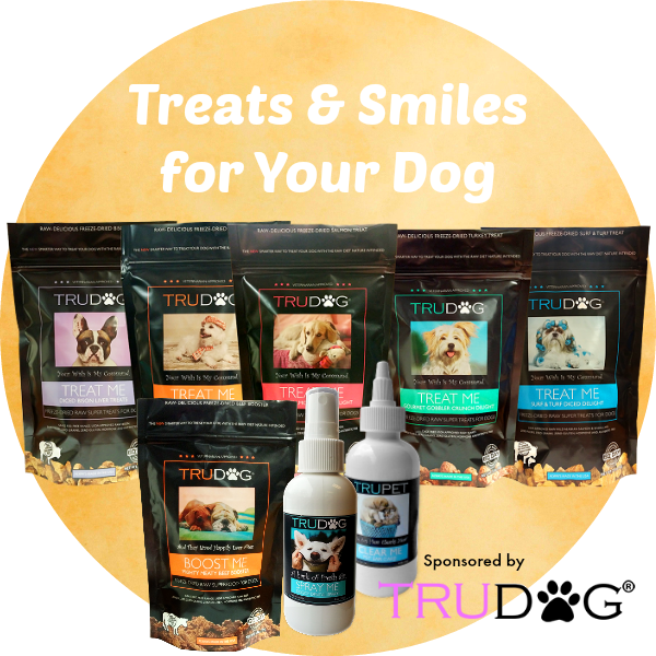 TruDog treats, dental spray and more
