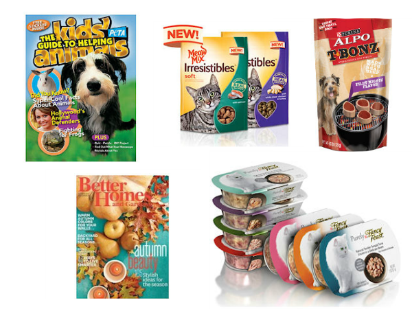 free pet samples magazines