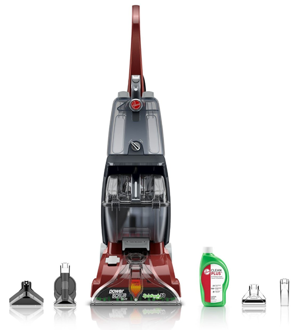 great deal on Hoover power scrub carpet cleaner
