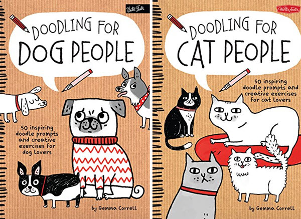 Doodling Books for Pet Lovers