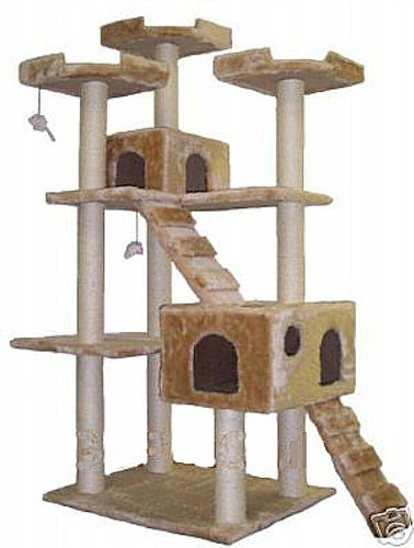 Go Pet Club Cat Tree Condo