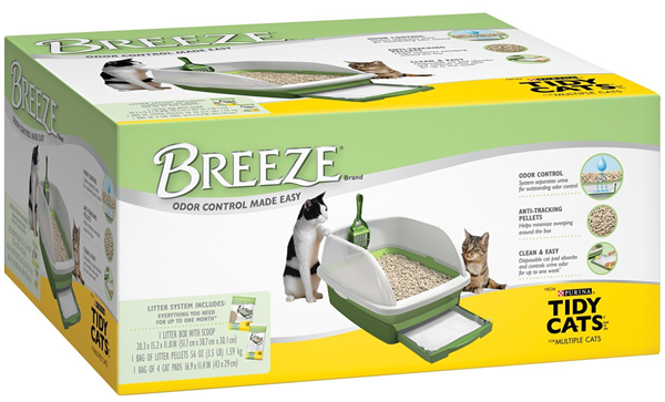 Tidy Cat Breeze Litter Box Kit