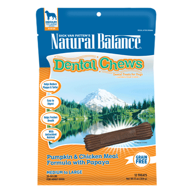 Pumpkin Chicken Dental Chews