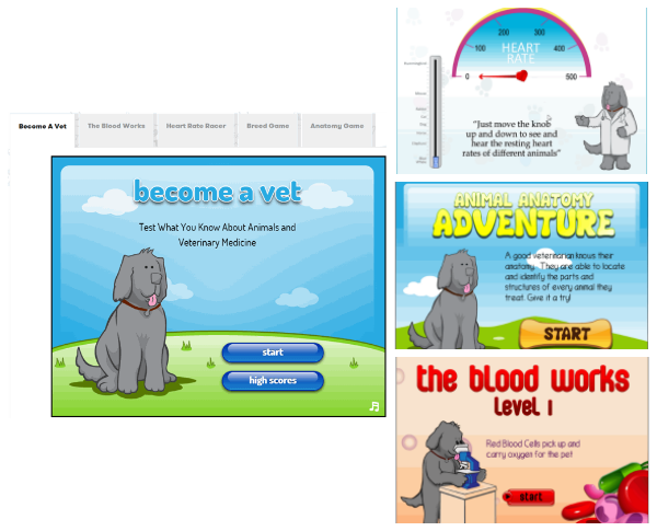 Vet Learning Games