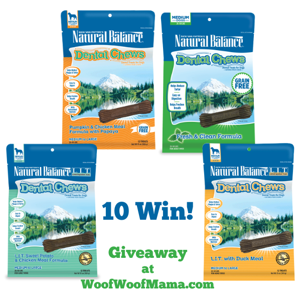 Win Natural Balance Dental Chews