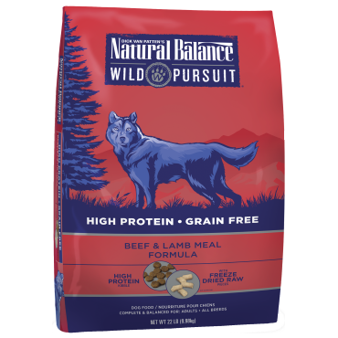 Bag of Wild Pursuit Dog Food