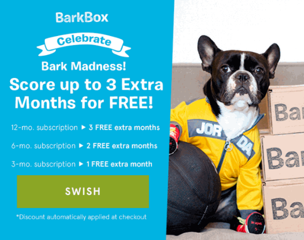 BarkBox March Madness