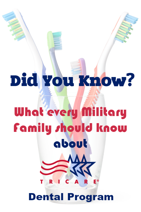 did you know about tricare dental
