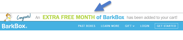Free BarkBox Code confirmation